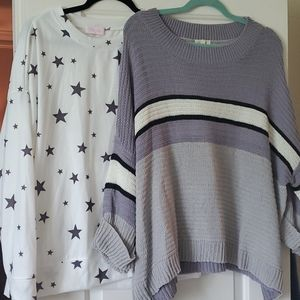 Pink lily sweaters tops medium